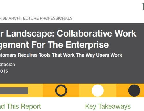 Reporte Forrester : Gestión de trabajo colaborativo para la empresa